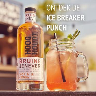 Deze punch slaat erin! Lekker om samen te drinken op een tuinfeest of bij een bbq! #summer #cocktailrecipe #cocktailinspiration #summervibes #hooghoudt