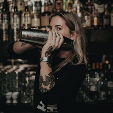 Say hello to Marie Louise Taal, one of our bad-*ss brand ambassadors and co-creators of our Infused series.  #genever #cocktails #infused #bartender #betheoriginal