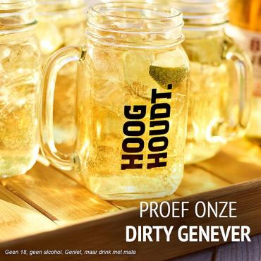 Ontdek de Dirty Genever cocktail, op basis van onze heerlijke bruine jenever gemixt met ginger ale. Proost! • • • #hooghoudt #cocktails #cocktailculture #dirtygenever #cocktailrecipe #cocktailinspiration
